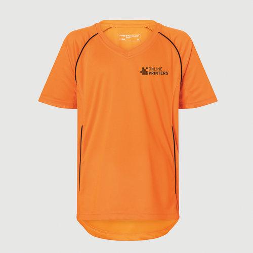 orange / svart