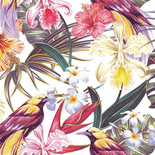 Blommönster